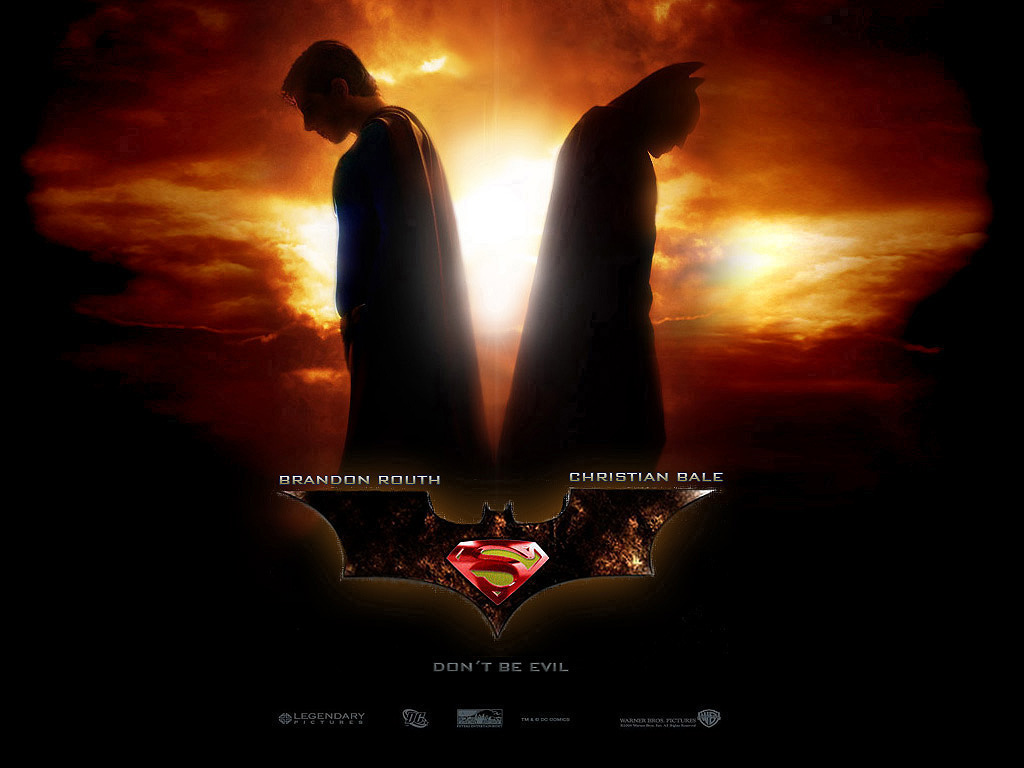 Movie Concept: Batman vs. Superman (or is it the other way around?)